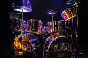 Neil Peart's drum set
