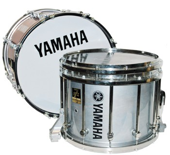 Yamaha MTS-9214 Marching Snare and 8200 Bass Drum