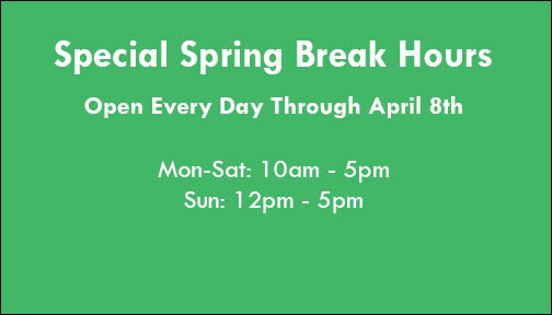 2019 Spring Hours
