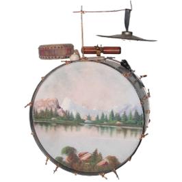 Fletcher Henderson's Bass Drum Kit