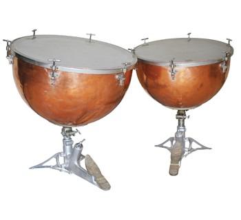 "Ludwig & Ludwig, Natural-Way, Balanced-Action ""Pedal Tuned"" Tympani"