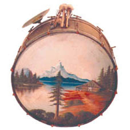 Ludwig & Ludwig 'Stipelgold' Bass Drum